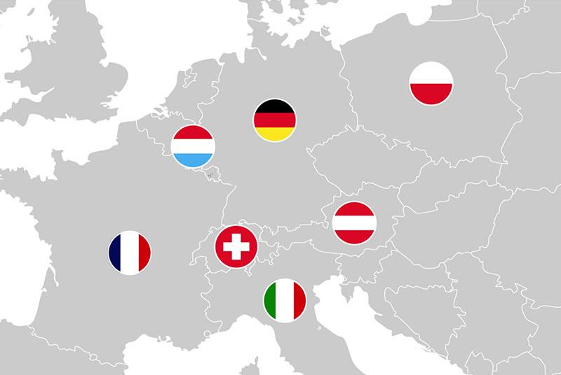 Vertrieb Europa Hochpunkt